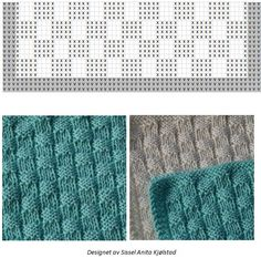 Knitwear, Diy And Crafts, Home Decor, Tricot, Knits, Tuto Tricot, Home Interior Design, Decoration Home, Home Decoration