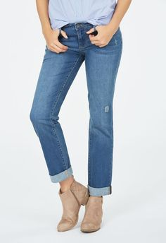 5b417cfb354 Relaxed Straight Kleidung in Gypsy Blue - günstig kaufen bei JustFab
