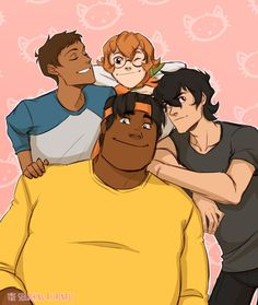 a voltron sideblog where I can worship the space children in peace (multi-shipper, ships pretty much...
