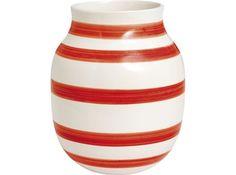 Kähler 12505  Vase Rød 20 cm 1 stk.