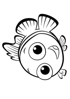Coloring Book, Finding Nemo, Coloring Pages - Free Printable | color ...