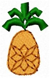 Pineapple, 2 Styles! | Mini Designs | Machine Embroidery Designs | SWAKembroidery.com Sealed With A Stitch