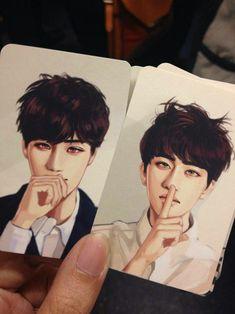kai, d.o, and exo image