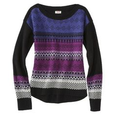 Cute pullover sweater. Target