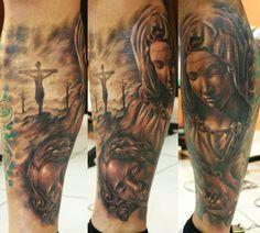 Tattoo Artist - Tibor Galiger - religious tattoo