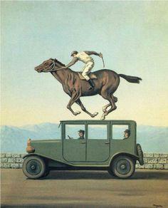 The anger of gods - Rene Magritte