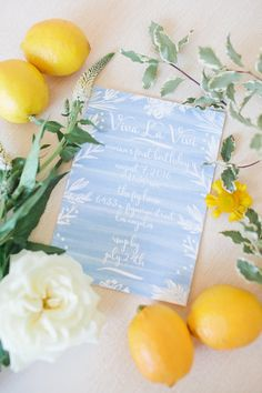 Spring sky blue party invitation: Photography : Lova Ala Read More on SMP: http://www.stylemepretty.com/living/2016/09/06/learn-how-to-throw-the-ultimate-gorgeous-kids-party/