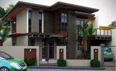 2 storey house design, house exterior design, house outside des Minimalist House Design, Minimalist Home, Modern House Design, Modern Zen House, Modern House Exteriors, Double Storey House, 2 Storey House Design, Philippine Houses, Design Exterior