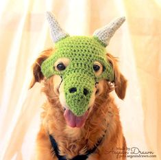 Dragon Costume for Dogs Dragon Dog Mask Dog Dragon by AegeanDrawn