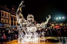 Speaking of ice…Poznan hosts the STIHL POZnan Ice Festival / Christmastime In Poland