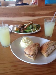 """@samihsieh: """"Post work-out lunch @ Tender Greens w/ Claudia"""""""