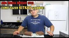Ana Maria Brogui #25 - Como fazer KitKat Gigante!, via YouTube.