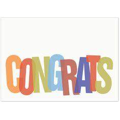 5x7 Business Congratulations Card