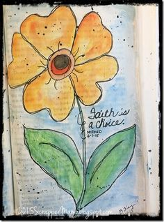 Sentiments and Scrapbooks - Inspiration  for  Bible  Journaling