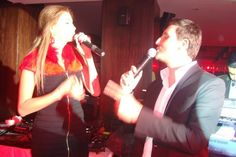 Singing Valentine's at Qube with Mark Abdel Nour