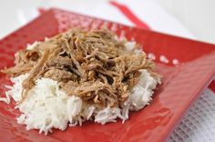 Crockpot Kahlua Pork @yourhomebasedmom.com  #pork,#crockpot,#recipes