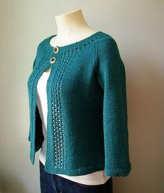 Mayim Cardigan - Knitting Patterns by Alexandra Virgiel Ladies Cardigan Knitting Patterns, Knit Cardigan Pattern, Jacket Pattern, Knitting Stitches, Hand Knitting, Crochet Woman, Knit Crochet, Knit Picks, Knit Jacket