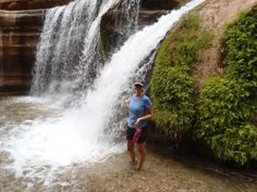 Hidden Waterfalls in a side canyon of the Grand Canyon