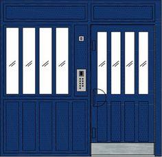 Communal Entrance Door