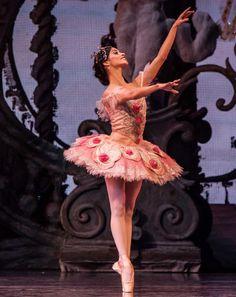 Houston Ballet principal dancer Karina Gonzalez as the Sugar Plum Fairy in The Nutcracker