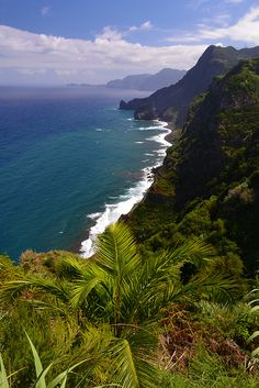 Madeira Island, Portugal where Avelino comes from Places Around The World, Oh The Places You'll Go, Places To Travel, Places To Visit, Wonderful Places, Great Places, Beautiful Places, Amazing Places, Funchal