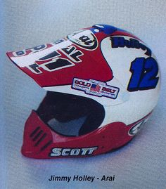 1986 Arai Helmet of Jim Holley | Flickr - Photo Sharing!