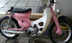 Image result for custom cub c70 Honda Cub, Cubs, Motorcycle, Bike, Vehicles, Ascot, Barbie, Girls, House