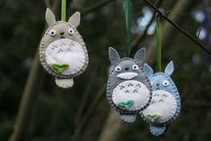 Totoro Ornaments