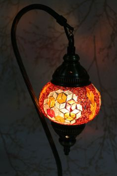 Multicolour Turkish Moroccan Style Mosaic Table Lamp Lampshade Hand Made DV101
