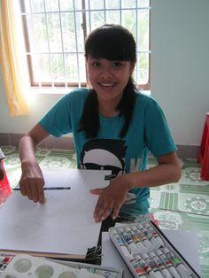 Rock-Paper-Scissors Art Student