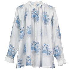 Injiri, Shirt, Gather - Selvedge