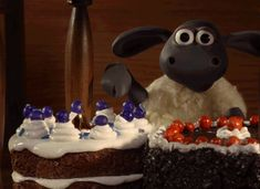 Discover & share this Shaun The Sheep Movie GIF with everyone you know. GIPHY is how you search, share, discover, and create GIFs. Chocolate Roll Cake, Low Carb Chocolate, It's Your Birthday, Birthday Wishes, Happy Birthday, Birthday List, Birthday Cake, Timmy Time, Animiertes Gif