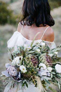 wild artichoke bouquet