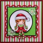 Whimsie Doodles Christmas card