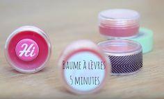 baume à lèvres maison en 5 minutes