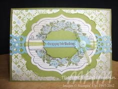 The Fine Art of Stampin'  Stampin' Up! Apothecary Art