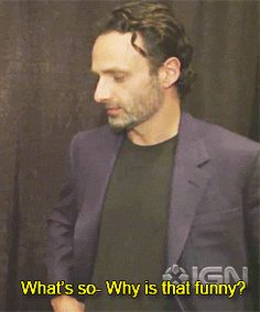 Chandler Riggs And Andrew Lincoln | twd the walking dead Andrew Lincoln AMC IGN chandler riggs twd cast ...