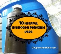 10 Helpful Hydrogen Peroxide Uses - Natural Home Cleaning Household Cleaning Tips, Cleaning Hacks, Cleaning Supplies, Green Cleaning, Spring Cleaning, Hydrogen Peroxide Uses, Clean Freak, Diy Cleaners, Natural Cleaning Products