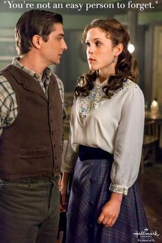 I hope I have a relationship with someone someday like Jack Thornton and Elizabeth Thatcher of When Calls the Heart!  A true Gentleman and Lady. :)