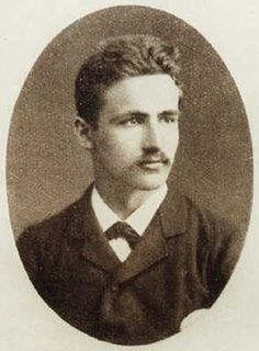 German dramatist, and author of Spring Awakening, Frank Wedekind, 1883