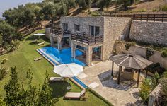 Corfu, Greece, Villa, Patio, Outdoor Decor, Home Decor, Homemade Home Decor, Yard, Porch