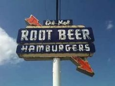 old neon drive-in signs