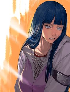 fan art - naruto_hinata by on DeviantArt Hinata Hyuga, Naruto Shippuden, Naruto And Hinata, Naruto Girls, Anime Naruto, Manga Anime, Naruto Grown Up, Naruto Fan Art, Naruto Family