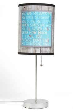 LAMP-IN-A-BOX 'You Are My Sunshine' Table Lamp available at #Nordstrom
