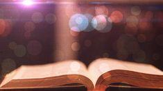 Free Open Bible Motion Worship Background - Videos2Worship