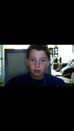 Fetus Shawn!!! Talking about following him on Facebook!!!