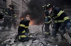 World Trade Center, New York firemen work amidst the carnage. James Nachtwey is an American photojournalist and war photographer. He grew up in Massachusetts and graduated from Dartmouth College, where he studied Art History and Political Science World Trade Center, Trade Centre, Falling Man Photo, James Nachtwey, Remembering September 11th, We Will Never Forget, Into The Fire, New York, Photo Essay