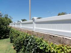 Block wall, fence toppers | Patio fence, Backyard privacy ...