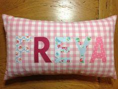 Bespoke Personalised Name Cushion