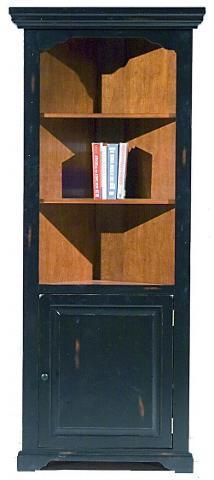 Country Marketplace - Black and Oak Corner Hutch, $499.00 (http://www.countrymarketplaces.com/products/Black-and-Oak-Corner-Hutch.html)